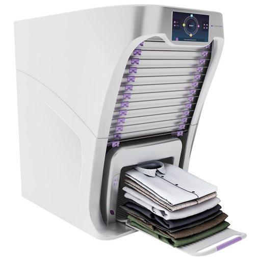 FoldiMate自动叠衣服机创意,带蒸汽熨烫功能