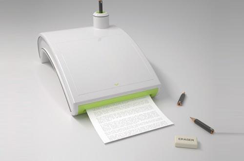 铅笔打印机创意设计