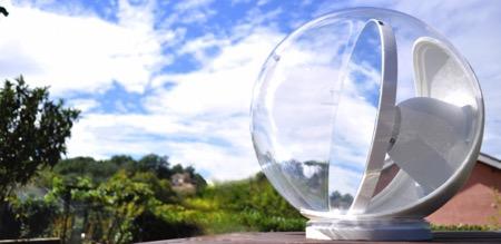 LUCY球形导光仪创意,让屋里每个角落都充满阳光