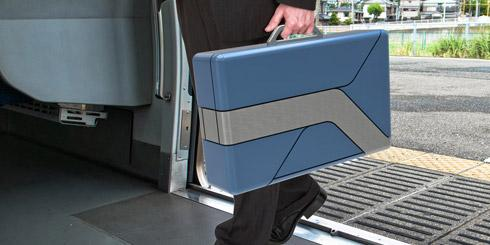 手提箱电动滑板车创意设计