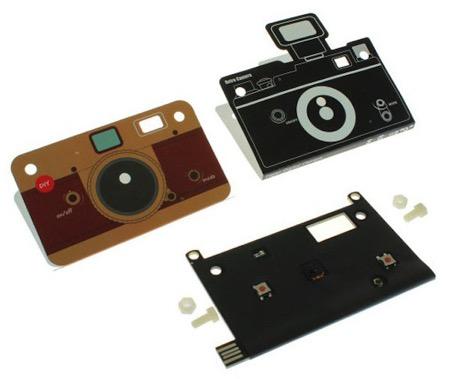 日本厂商推出超薄纸板相机创意设计