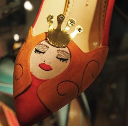 童话主题高跟鞋创意设计