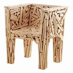 破坏与重建—焚烧的家具创意设计