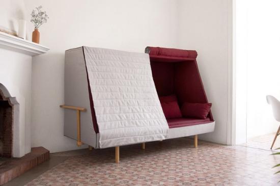 沙发、睡床与独立小屋创意设计