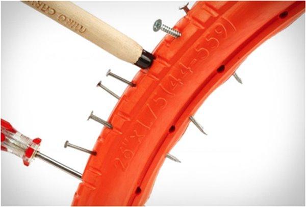 防扎实心自行车轮胎创意,tannus创意设计