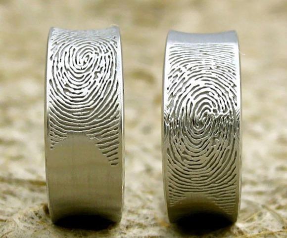 创意指纹婚戒创意设计
