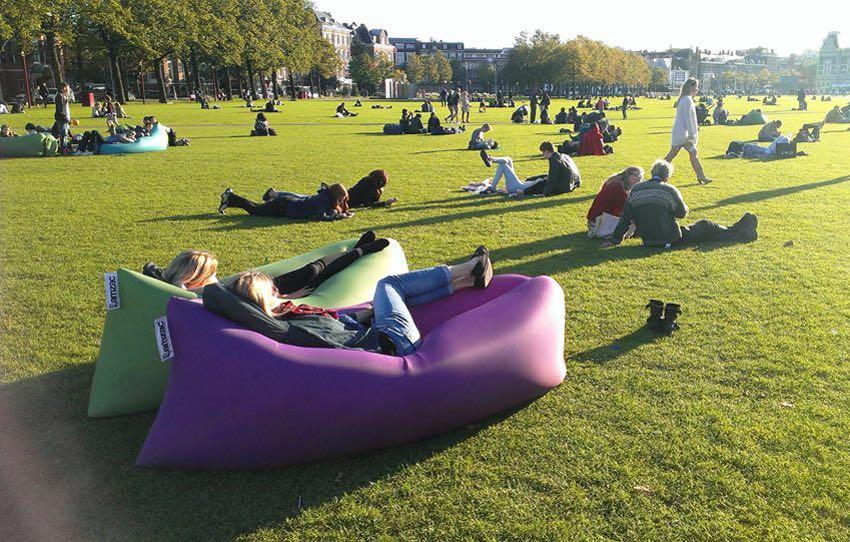 快速充气沙发创意设计