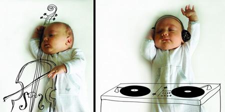 小宝宝也有大理想创意设计