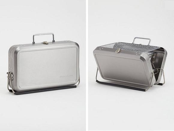 轻便的手提箱式烧烤炉创意设计
