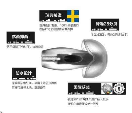 Happyears防噪音耳塞进驻中国创意设计