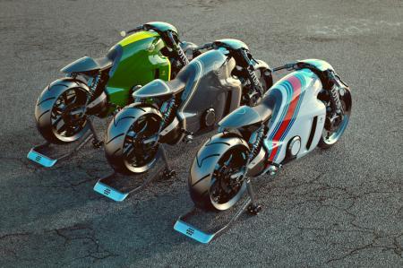 LOTUS公司首款重型摩托创意设计