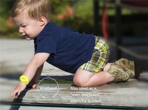 全球首款智能防溺水穿戴设备创意,iSwimband创意