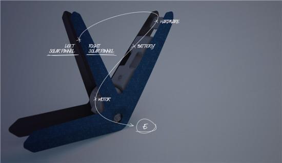 太阳能电动自行车创意设计
