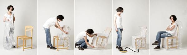 实用的充气椅套创意设计