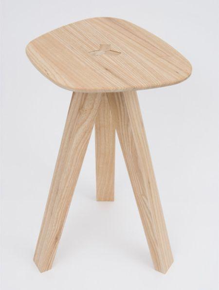 三腿折叠凳创意设计
