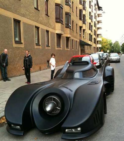 澳牛人打造蝙蝠侠战车创意设计