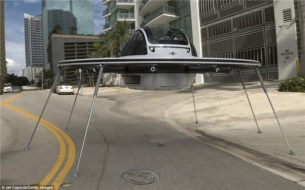 I.F.O概念载人式无人机创意,外形酷似飞碟