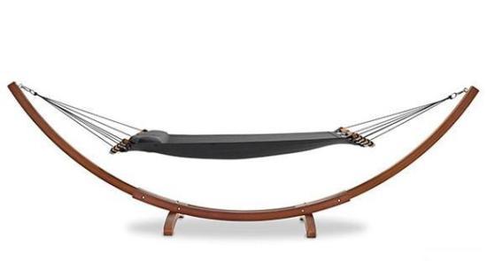 自带弧形支撑架的吊床创意设计