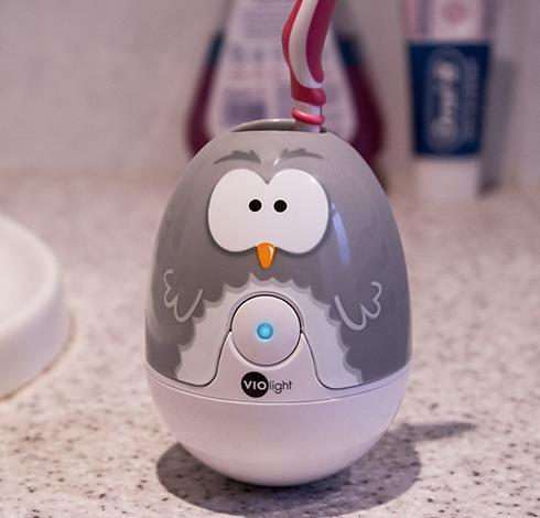 可爱牙刷消毒器创意设计
