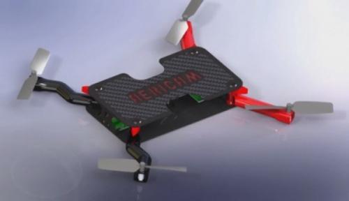 便携航拍无人机创意,售价仅为200美元