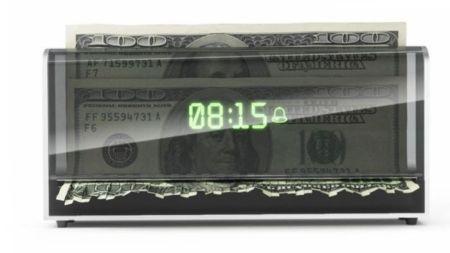 疯狂的碎钞机闹钟创意设计