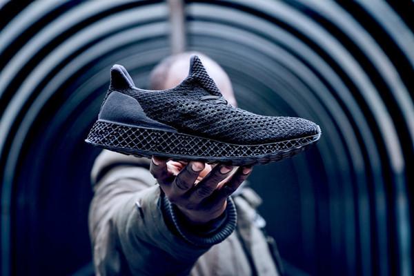 Adidas创意,3D打印跑鞋开售创意设计