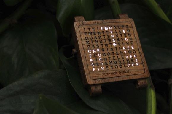 创意爆棚的木质手表创意设计