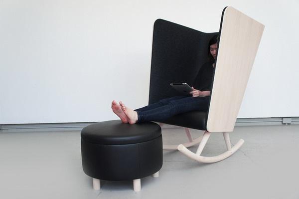 个性时尚摇椅创意设计