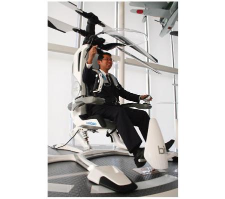单人民用电动直升机创意设计