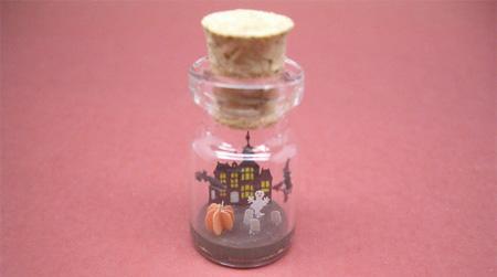 小玻璃瓶袖珍场景创意设计