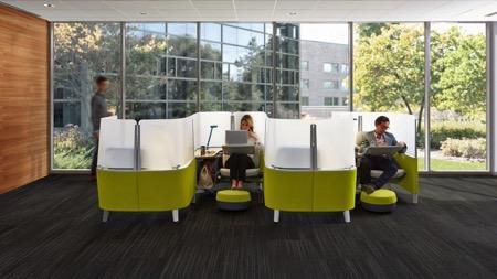 独立私密办公隔间创意设计
