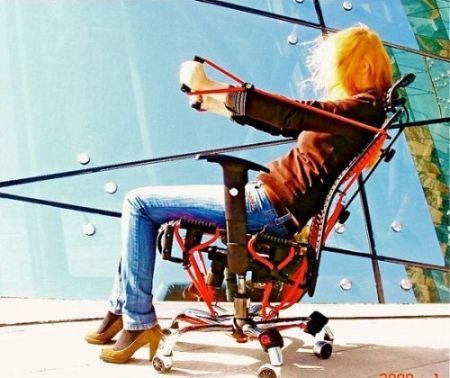 创意健身椅创意设计