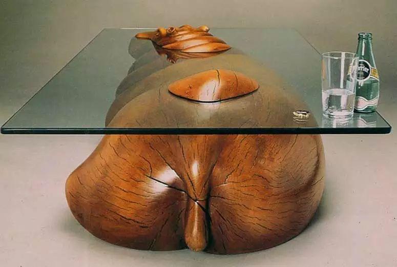 动物茶几创意设计,让人脑洞大开!