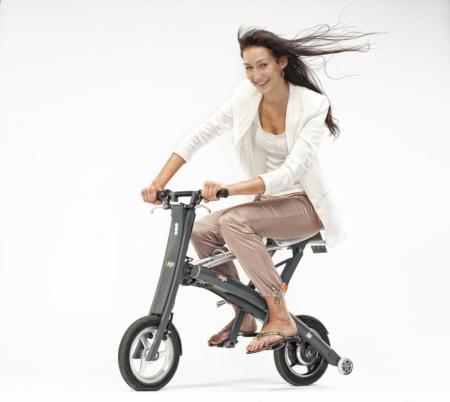全球折叠最快的电动自行车创意设计