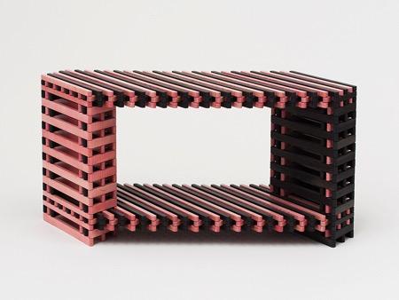 集艺术、工艺与实用于一体的变形椅子创意设计
