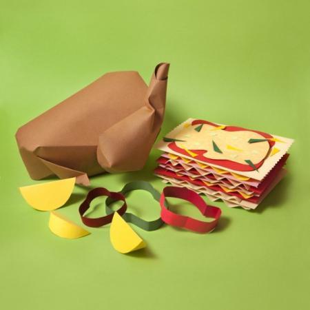 纸制美食创意设计
