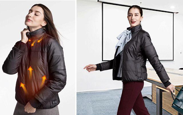 Flexwarm自发热外套创意,冬天抗冷神器