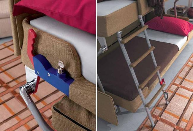 上下铺沙发床创意设计