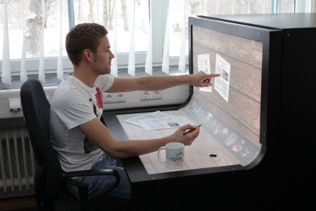 未来办公桌创意设计