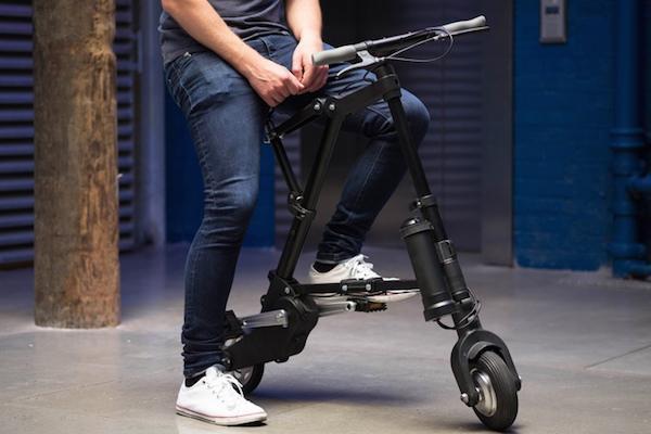 A-bike号称全球最轻最小电动自行车创意设计