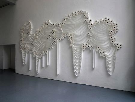 美妙的厕纸艺术作品创意设计