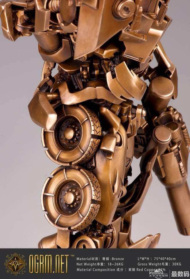 """最牛""""擎天柱""""青铜机甲作品创意设计"""