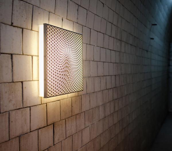 神奇的四方催眠灯创意设计