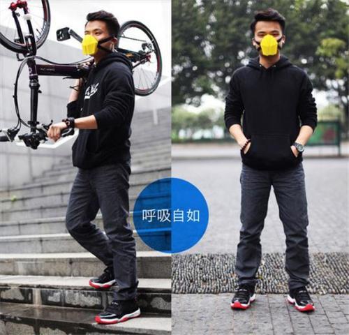 穿戴式空气净化口罩创意设计