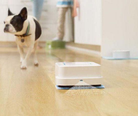 iRobot推出晒水拖地机器人创意设计