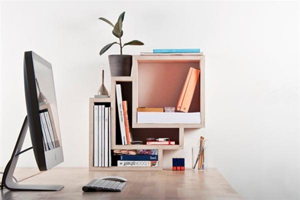 横竖都能放的书架创意设计