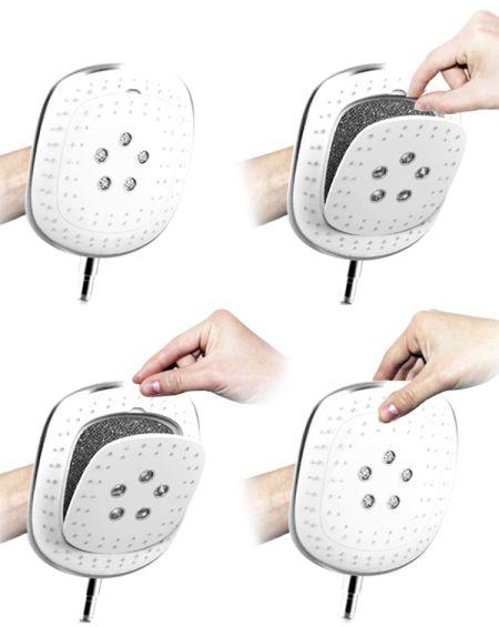 药浴喷头创意设计