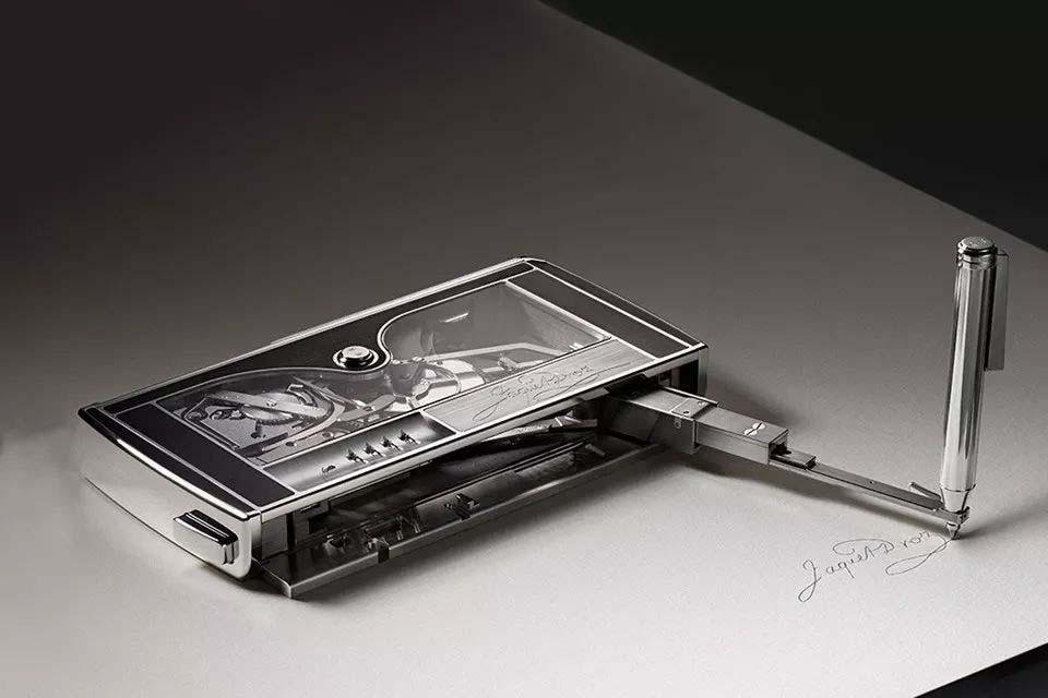 巧夺天工的签名机器创意设计