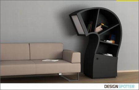 壁柜与灯创意设计