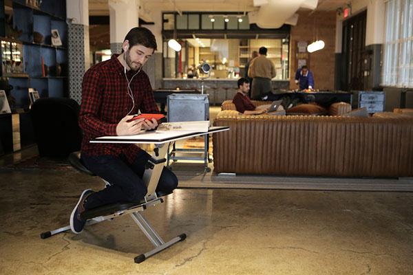 让你坐得轻松的折叠办公桌创意设计